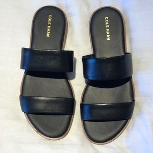 New in Box Cole Haan Black Sandals Size 6